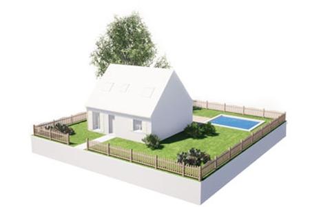Illustration d'un aménagement extérieur