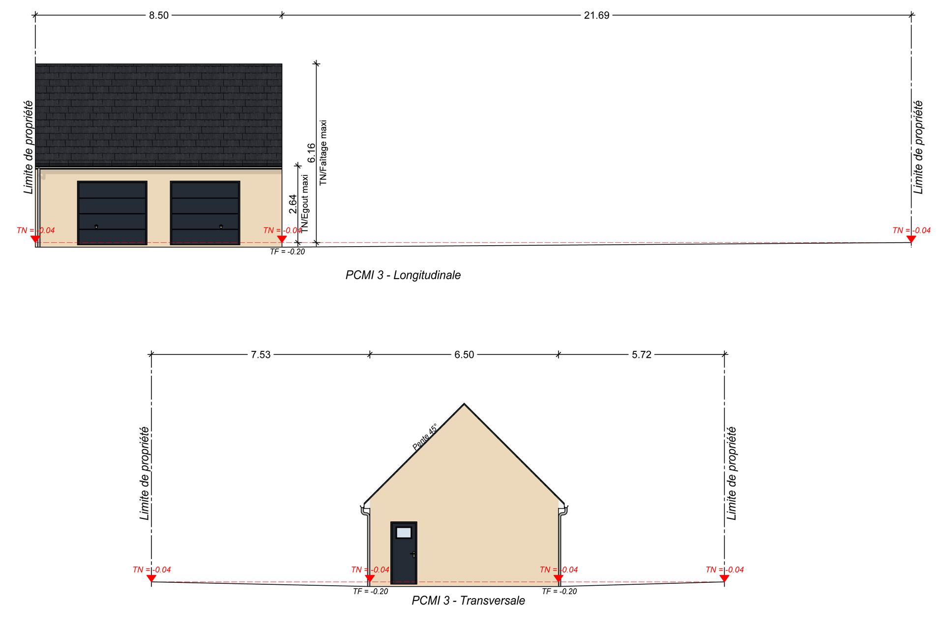 Maison De 170 M Plan Modele Et Construction Par Archidesign 6